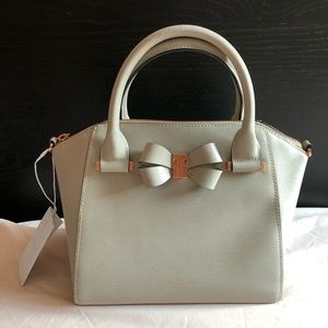 Ted Baker Charmea Bow Detail Small Tote Taupe